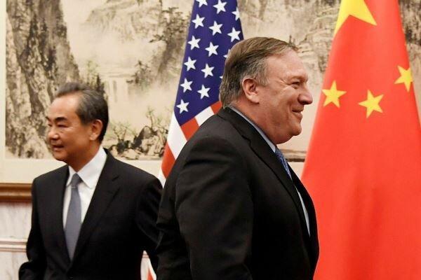 پمپئو: پیشرفت چین باید بر پایه قوانین دنیا غرب باشد!