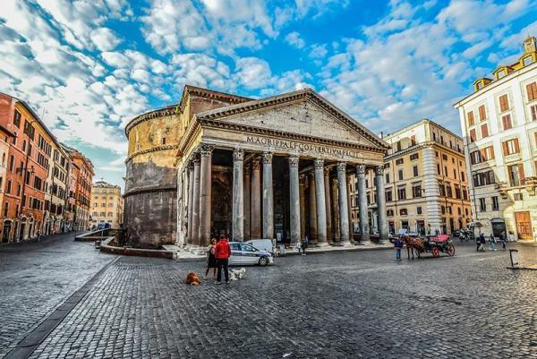 معبد پانتئون رم ؛بهترین یادمان روم باستان، عکس