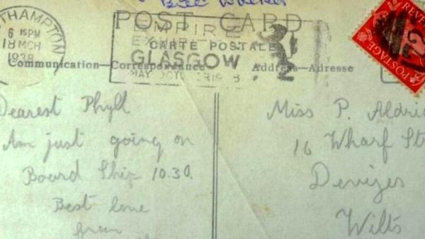انگلیس، نامه عاشقانه بعد از 100 سال به دست خانواده معشوق رسید
