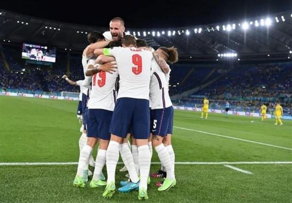 یورو 2020، صعود آسان انگلیس با غلبه بر اوکراین دست و پا بسته، سه شیر با پنجمین کلین شیت به نیمه نهایی رسید