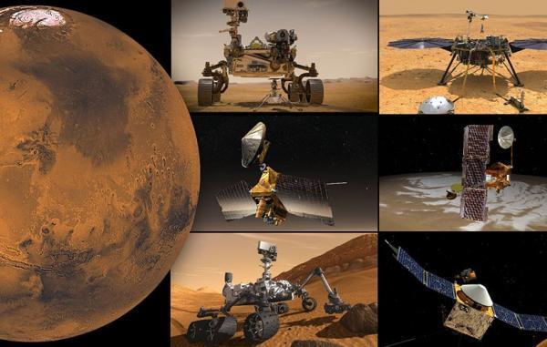 مسافران مریخ دو هفته به تعطیلات می فرایند